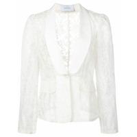 Marchesa Blazer Com Bordado - Branco