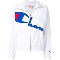 Champion Jaqueta Esportiva Com Logo - Branco