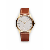 Uniform Wares Relógio Analógico 'c36 Date' - Marrom