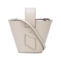 Carolina Santo Domingo Mini Amphora Shoulder Bag - Branco
