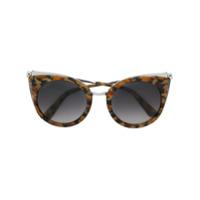 Cartier Óculos De Sol 'panthère De Cartier' - Marrom