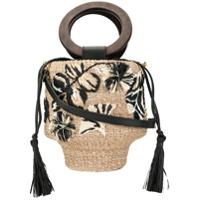 Aranaz Maya Bucket Bag - Neutro