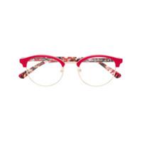 Etnia Barcelona Armação De Óculos Setubal Redonda - Vermelho