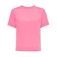 Mira Mikati Camiseta Com Detalhe De Fita - Rosa