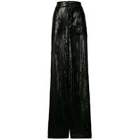 Dsquared2 Calça Pantalona Com Paetês - Preto
