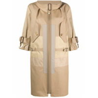 Junya Watanabe Trench Coat Com Zíper - Neutro