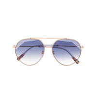 Missoni Eyewear Óculos De Sol Redondo - Dourado