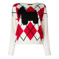 Boutique Moschino Suéter Com Padronagem - Neutro