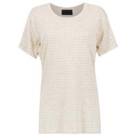 Andrea Bogosian T-Shirt Com Perfurações - Neutro