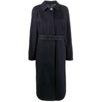 Moncler Pistache Trench Coat - Azul