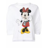 Christopher Kane Camiseta Com Estampa Da Minnie - Branco