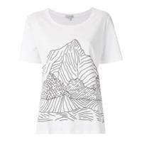 Alcaçuz T-Shirt Lemure Com Estampa - Branco
