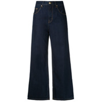 Amapô Calça Jeans Pantalona Kingston - Azul
