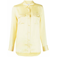 Equipment Blusa Slim Mangas Longas - Amarelo