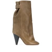 Isabel Marant Ankle Boot Lakfee - Verde