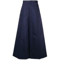Marni Calça Pantalona De Alfaiataria - Azul