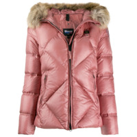 Blauer Padded Hooded Jacket - Rosa