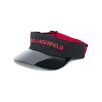 Karl Lagerfeld Viseira Com Logo - Preto