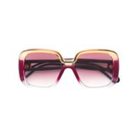 Givenchy Eyewear Óculos De Sol Qudrado - Rosa