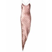 Michelle Mason Vestido Assimétrico - Rosa