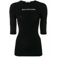 Balenciaga Blusa 'athletic' - Preto