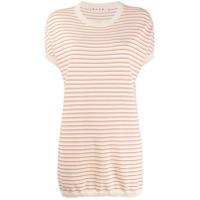 Marni Camiseta Oversized Listrada - Neutro