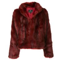 Unreal Fur Jaqueta 'delish' - Vermelho
