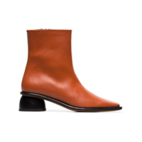 Neous Ankle Boot 'sed 35' De Couro - Marrom