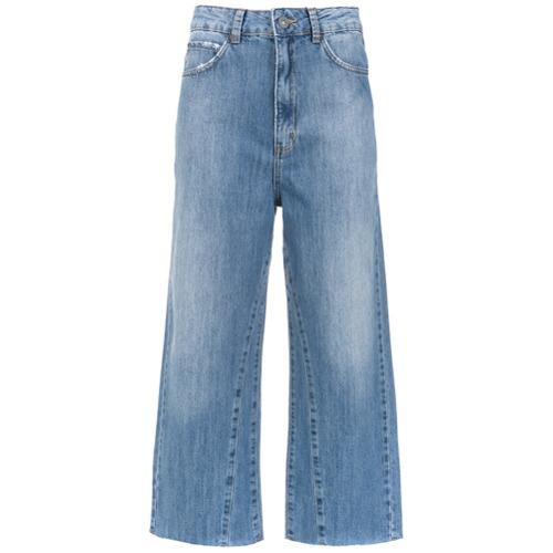 Bo.Bô Calça jeans pantacourt - Azul