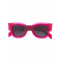 Céline Eyewear Óculos De Sol Em Acetato - Rosa