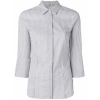 Liu Jo Striped Fitted Shirt - Branco