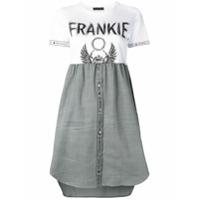 Frankie Morello Vestido Evasê - Branco