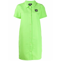 Stussy Nomi House Shirt Dress - Verde