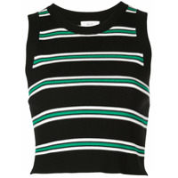 A.l.c. Stripe Knitted Top - Preto