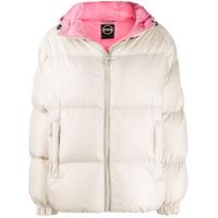Colmar Loose-Fit Hooded Puffer Jacket - Neutro