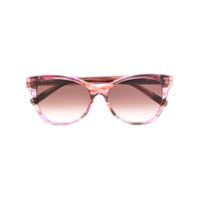 Missoni Eyewear Óculos De Sol Quadrado - Rosa