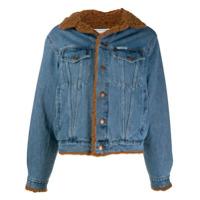 Forte Dei Marmi Couture Jaqueta Jeans Com Patch - Azul