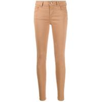 Liu Jo Calça Jeans Skinny Cintura Baixa - Neutro