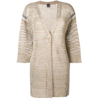 Lorena Antoniazzi Loose Knit Cardigan - Neutro
