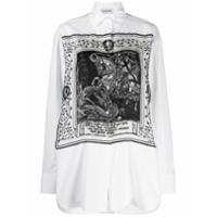 Lanvin Saint Georges And The Dragon Print Shirt - Branco