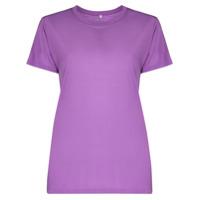 Baserange Camiseta Decote Careca De Bambu - Roxo