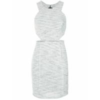 Pop Up Store Vestido Jacquard Com Vazados - 0060