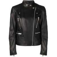 Belstaff Sydney Leather Jacket - Preto
