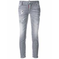 Dsquared2 Calça Jeans Skinny - Cinza
