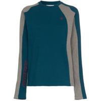 Gmbh Camiseta Canelada Gola Alta 'x Browns' - Azul