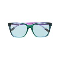 Missoni Eyewear Óculos De Sol Quadrado - Azul