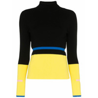 I-Am-Chen Suéter Color Block De Tricô - Estampado