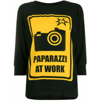 Ultràchic Paparazzi At Work T-Shirt - Preto