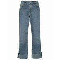 A.brand Calça Jeans Reta - Azul