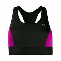 Calvin Klein Underwear Sutiã Para Esportes De Alto Rendimento - Preto